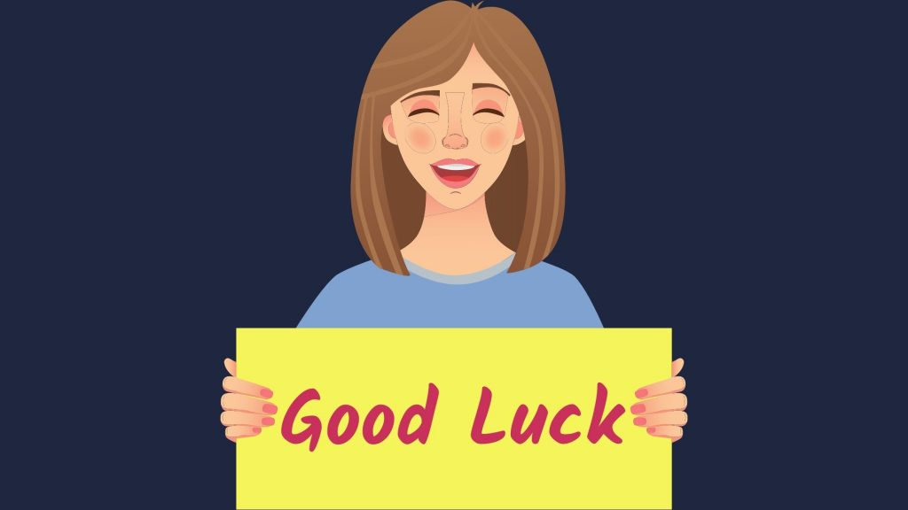 best of luck images